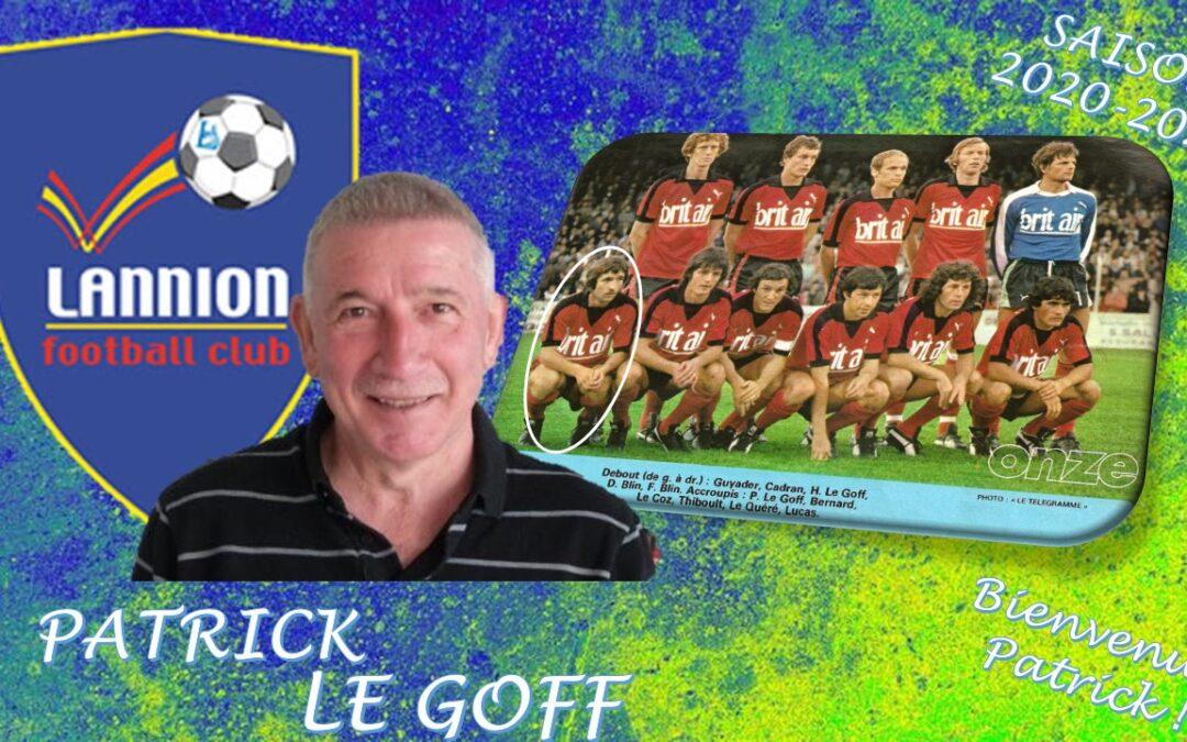 Patrick LE GOFF arrive au LANNION FC