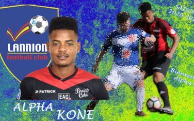 Alpha KONE rejoint le LANNION FC