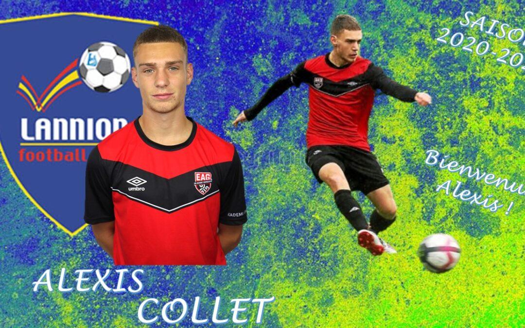 Alexis COLLET rejoint le LANNION FC