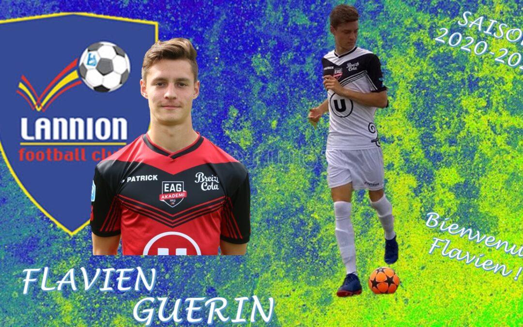 Flavien GUERIN rejoint le LANNION FC