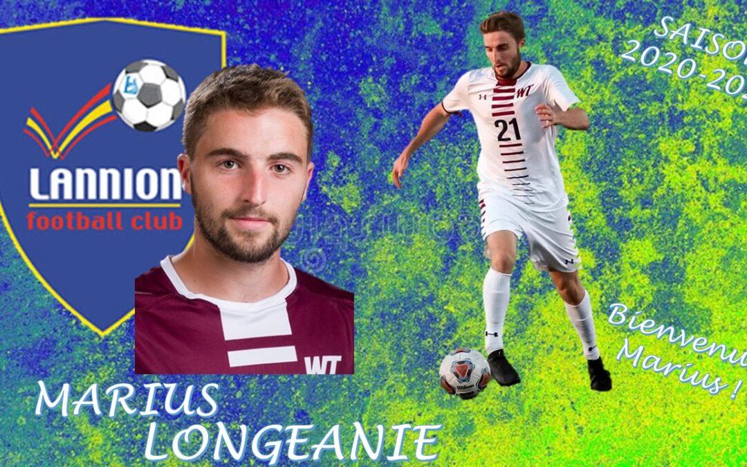Marius LONGEANIE de retour au LANNION FC