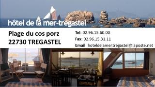 HOTEL DE LA MER TREGASTEL