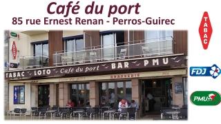 LE CAFÉ DU PORT PERROS-GUIREC