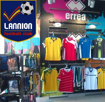 boutique lannion football club