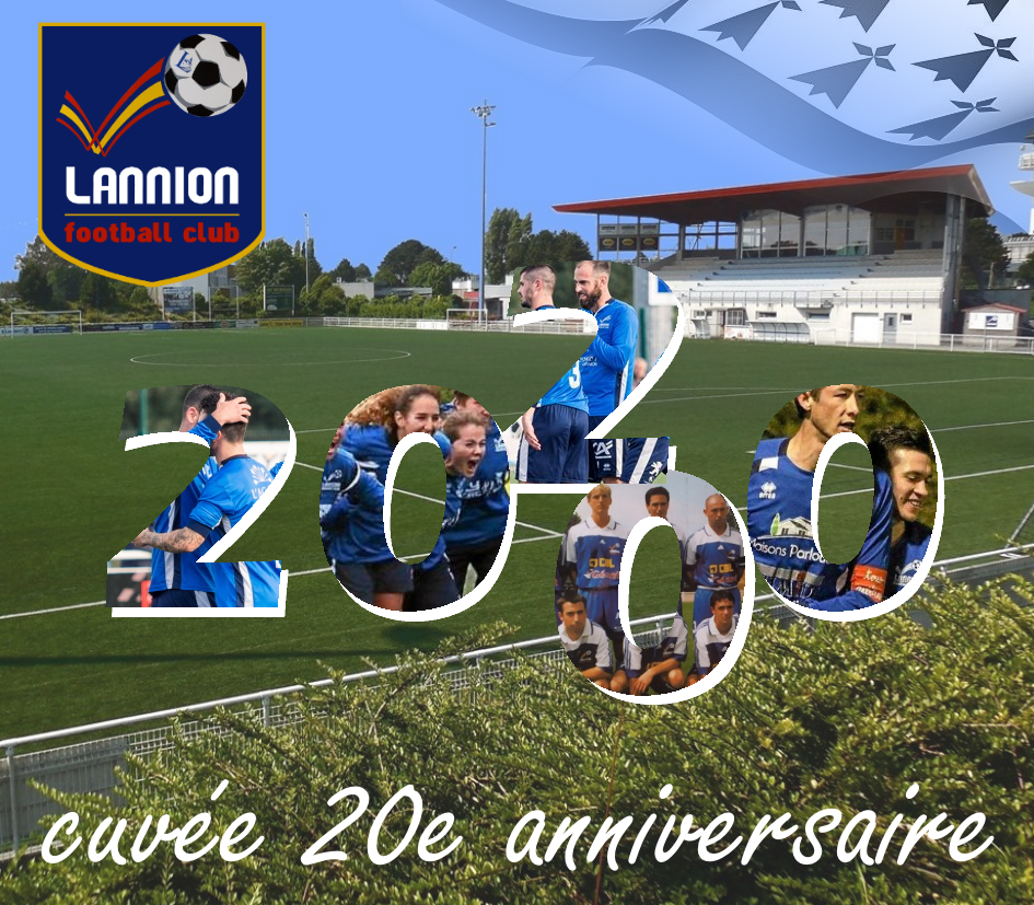 Lannion Football Club 20 ans