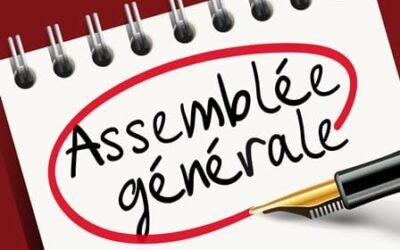Report de l'assemblée générale