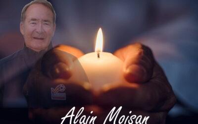 Décès d'Alain Moisan