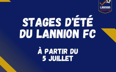 Les stages d'été du Lannion Football Club