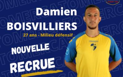 Damien Boisvilliers rejoint le Lannion FC