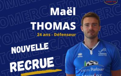 Maël Thomas rejoint le LANNION FC