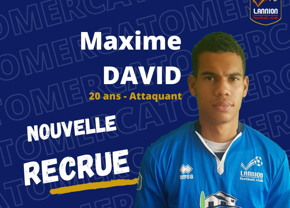 Maxime David rejoint le LANNION FC