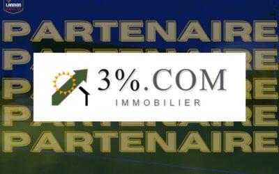 3%.com nouveau partenaire maillot