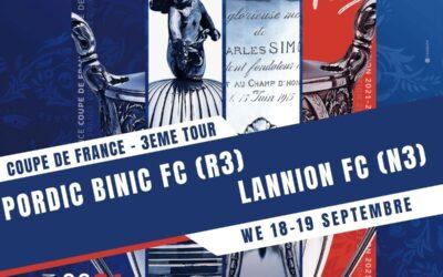 Coupe de France 2021-2022 – 3eme tour