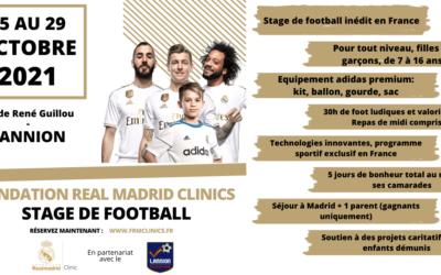 Stages de football Real de Madrid à Lannion