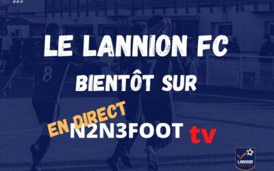 Matchs du LANNION FC sur N2N3FOOT TV