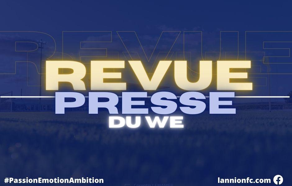 Saison 2021-2002 : revue de presse du week-end des 25 et 26 septembre 2021