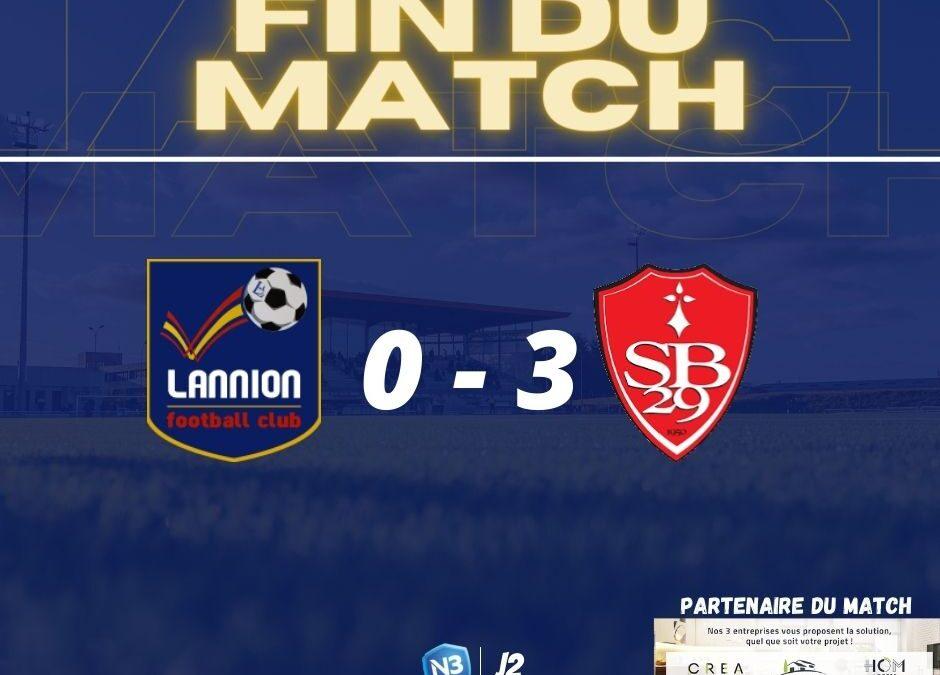 match lannion FC stade brestois